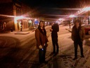 The Square in Murfreesboro at midnight after practice.