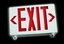 i series led combo exit sign