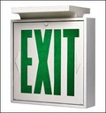 sign exit 03