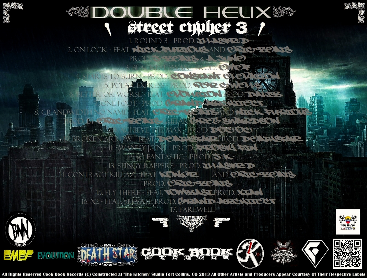 street cypher iii back cover