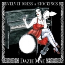 cover dazie mae velvet dress stockings