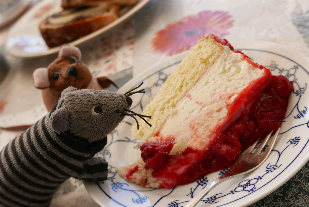gosig and dr j mouseman invited - home-made cheese cream tart 02