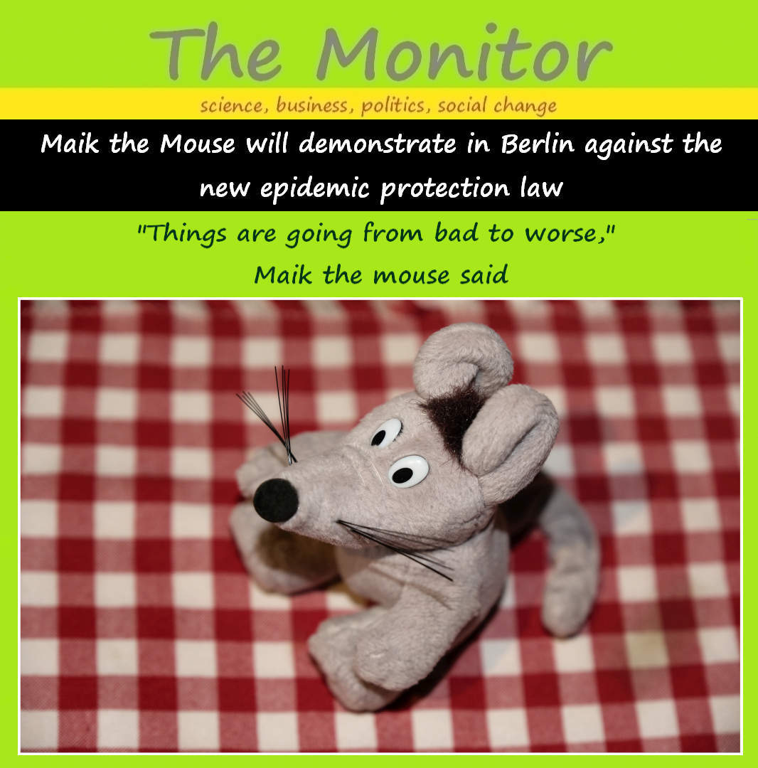maik the mouse demonstration berlin 20201118 01