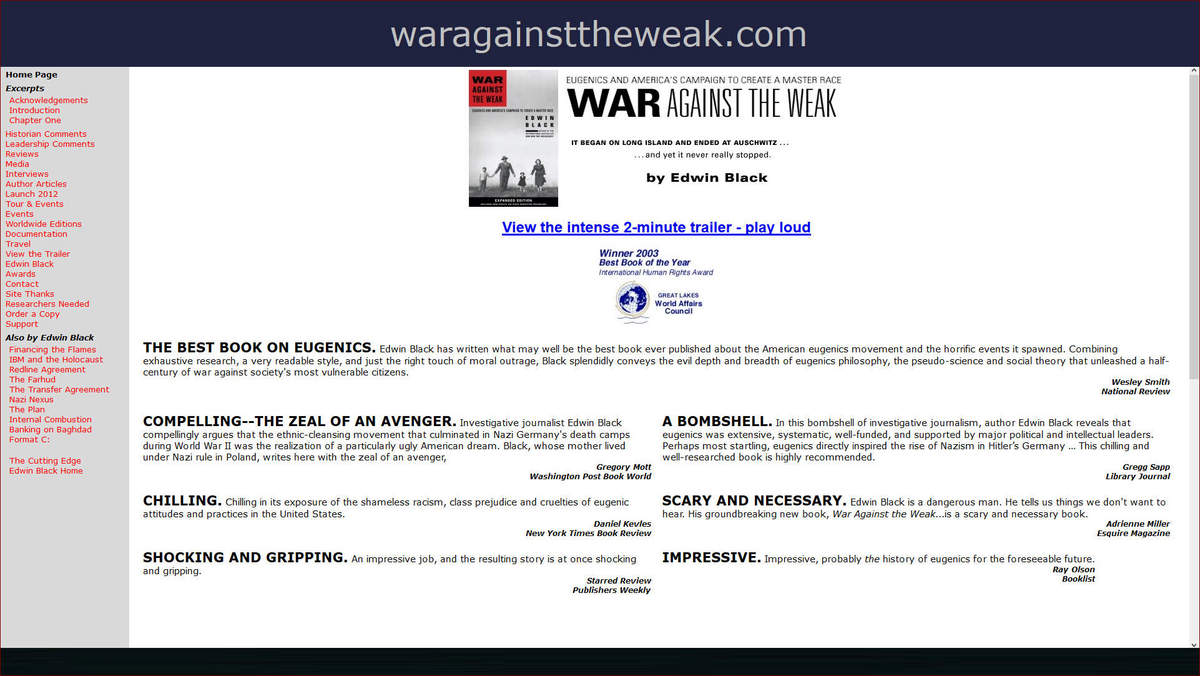war against the weak 01