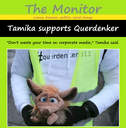 tamika supports querdenker