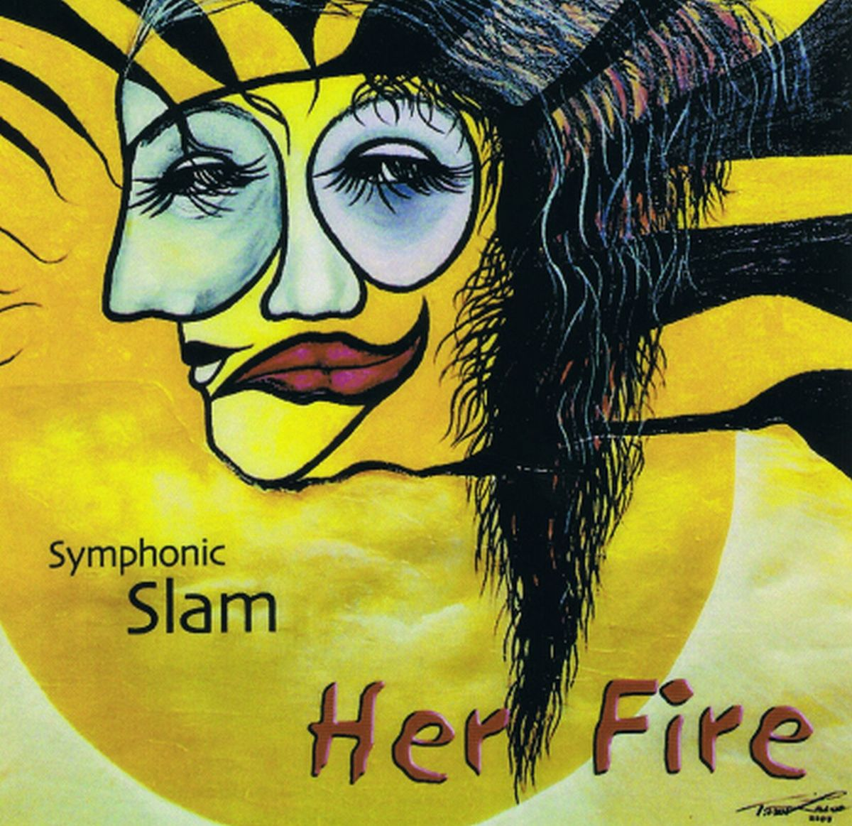 Timo Laine, Symphonic Slam, Her Fire Cover